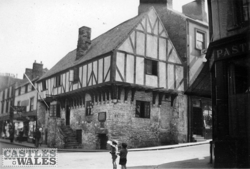 Aberconwy House, Conwy in 1935