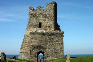 Aberystwyth Castle (Public Domain Image)
