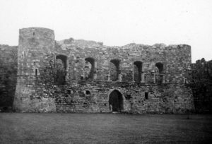 Beaumaris Castle Banqueting Hall in 1935