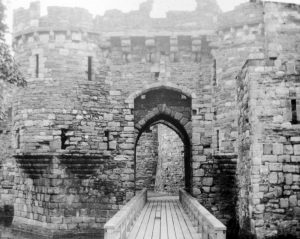 Beaumaris Castle (Main Entrance) in 1935