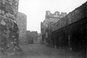 Beaumaris Castle (Middle Courtyard) in 1935