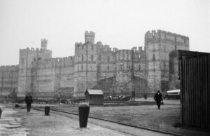 Caernarfon Castle in 1935
