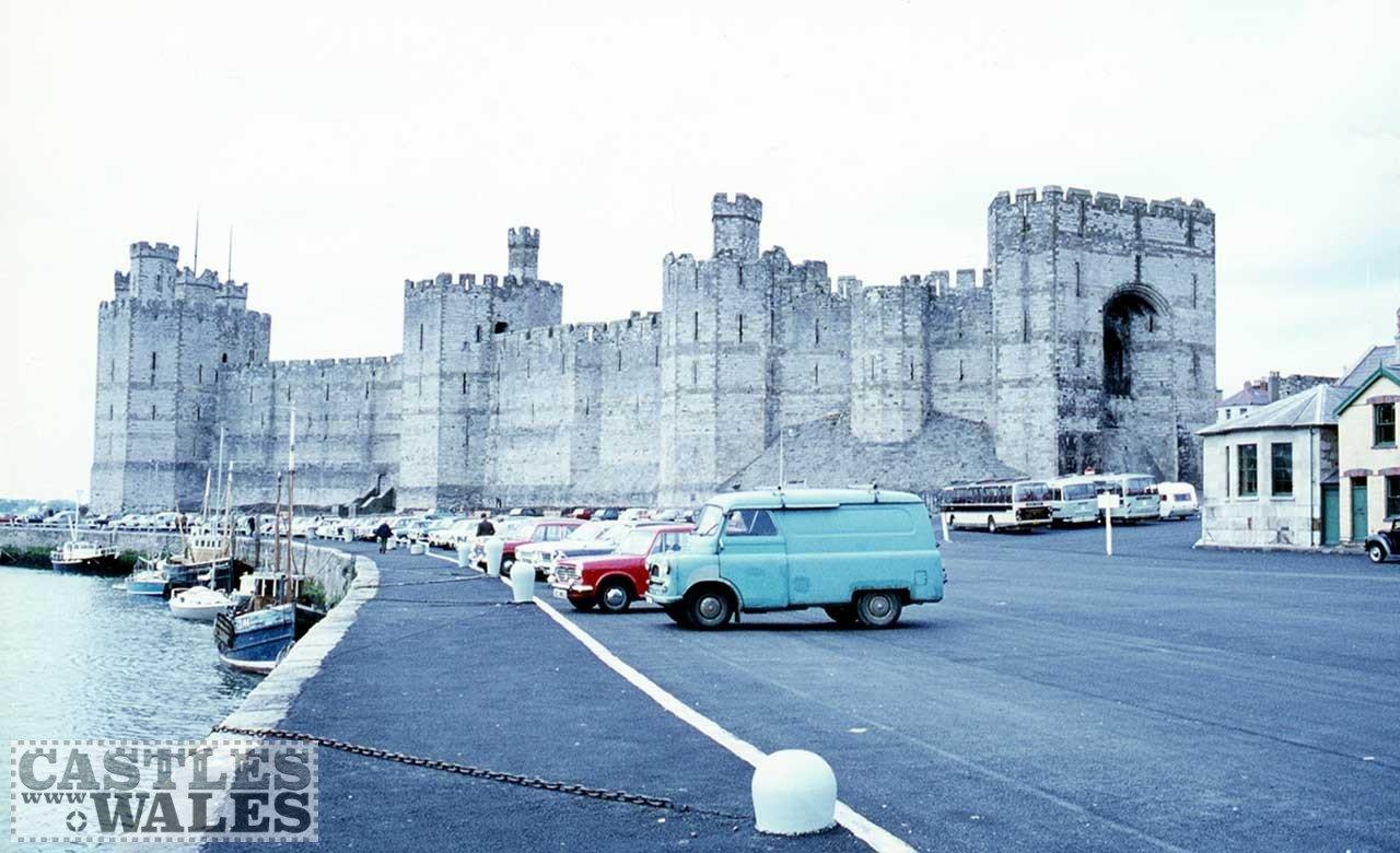 Caernarfon Castle in 1971