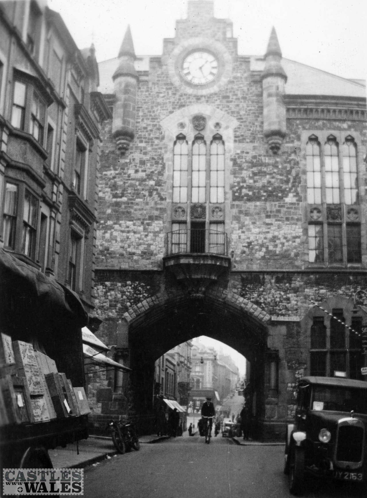 Caernarfon Guildhall in 1935