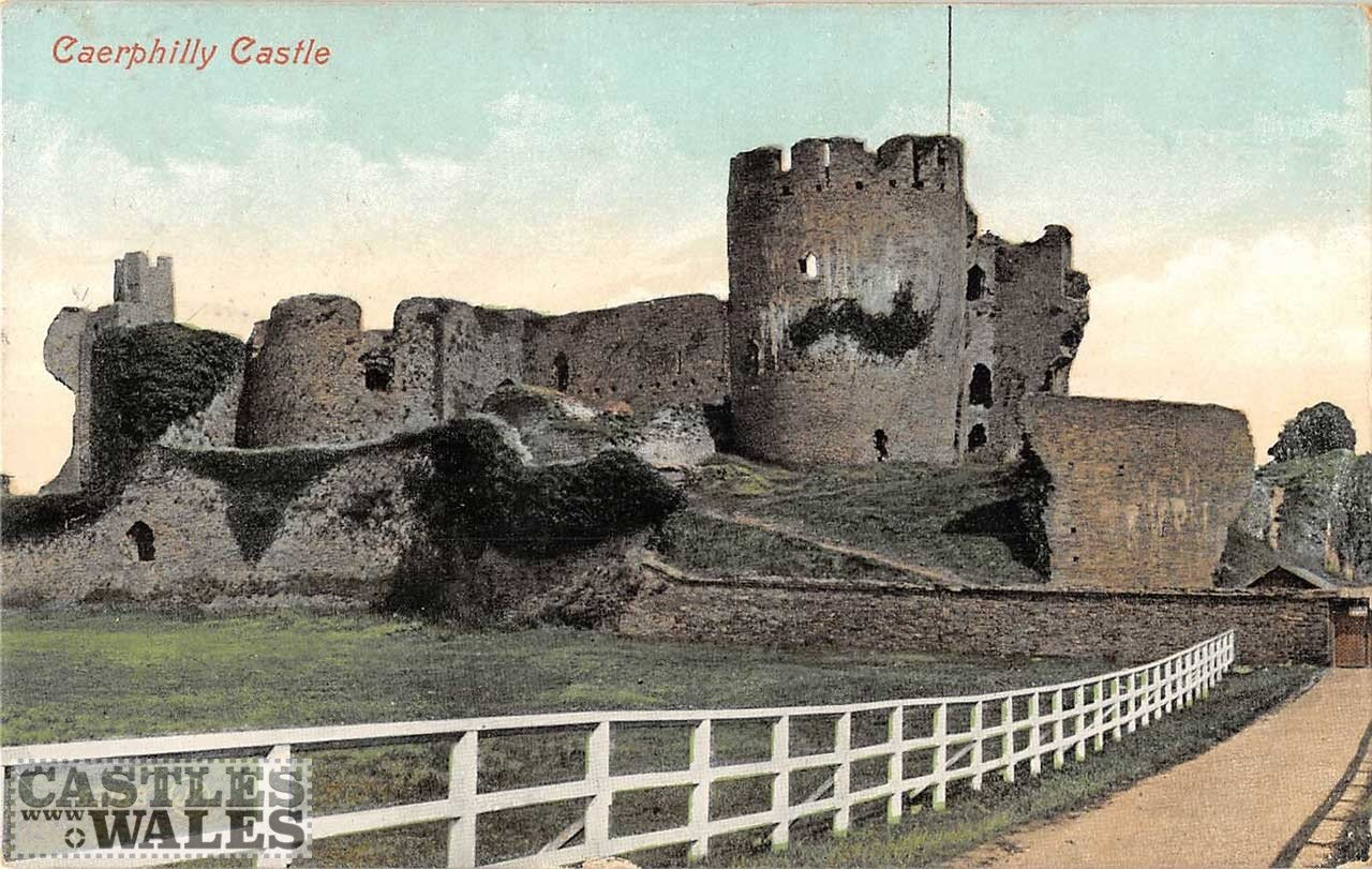 Caerphilly Castle Postcard
