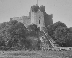 Cardiff Castle Magic Lantern Slide