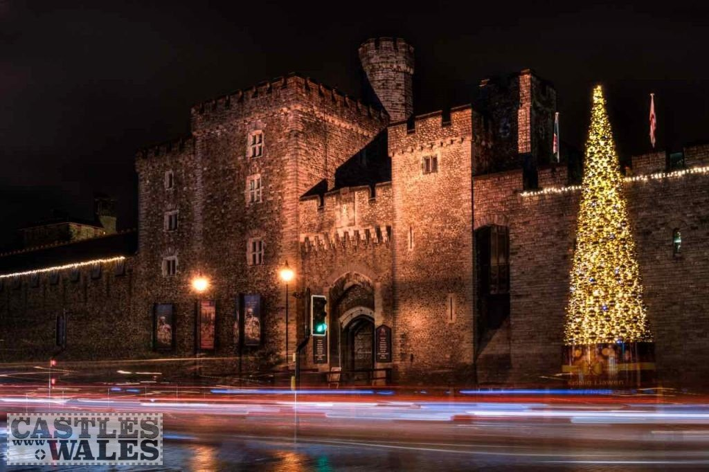 Cardiff Castle at Christmas
