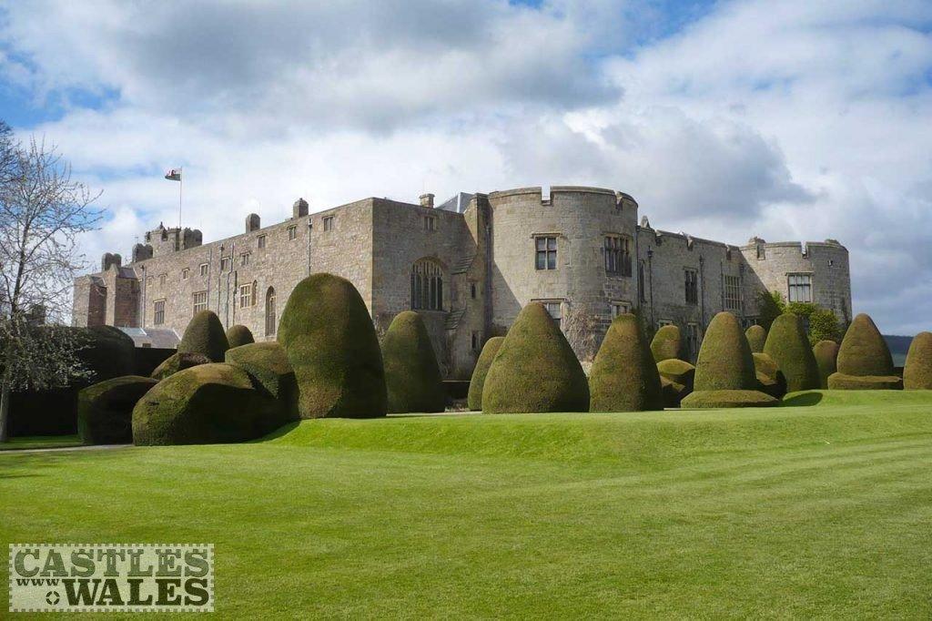 Chirk Castle (Public Domain Image)