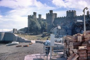 Conwy Castle in the 1960s