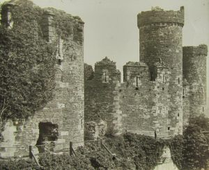 Conwy Castle Magic Lantern Slide c.1890