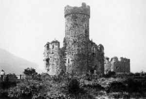 Conwy Castle from The Battlements in 1935
