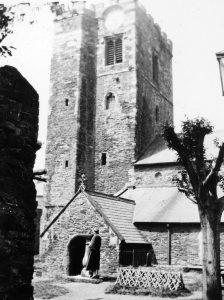Conwy Parish Church in 1935
