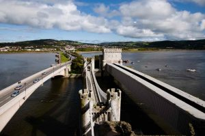 The Three Bridges at Conwy