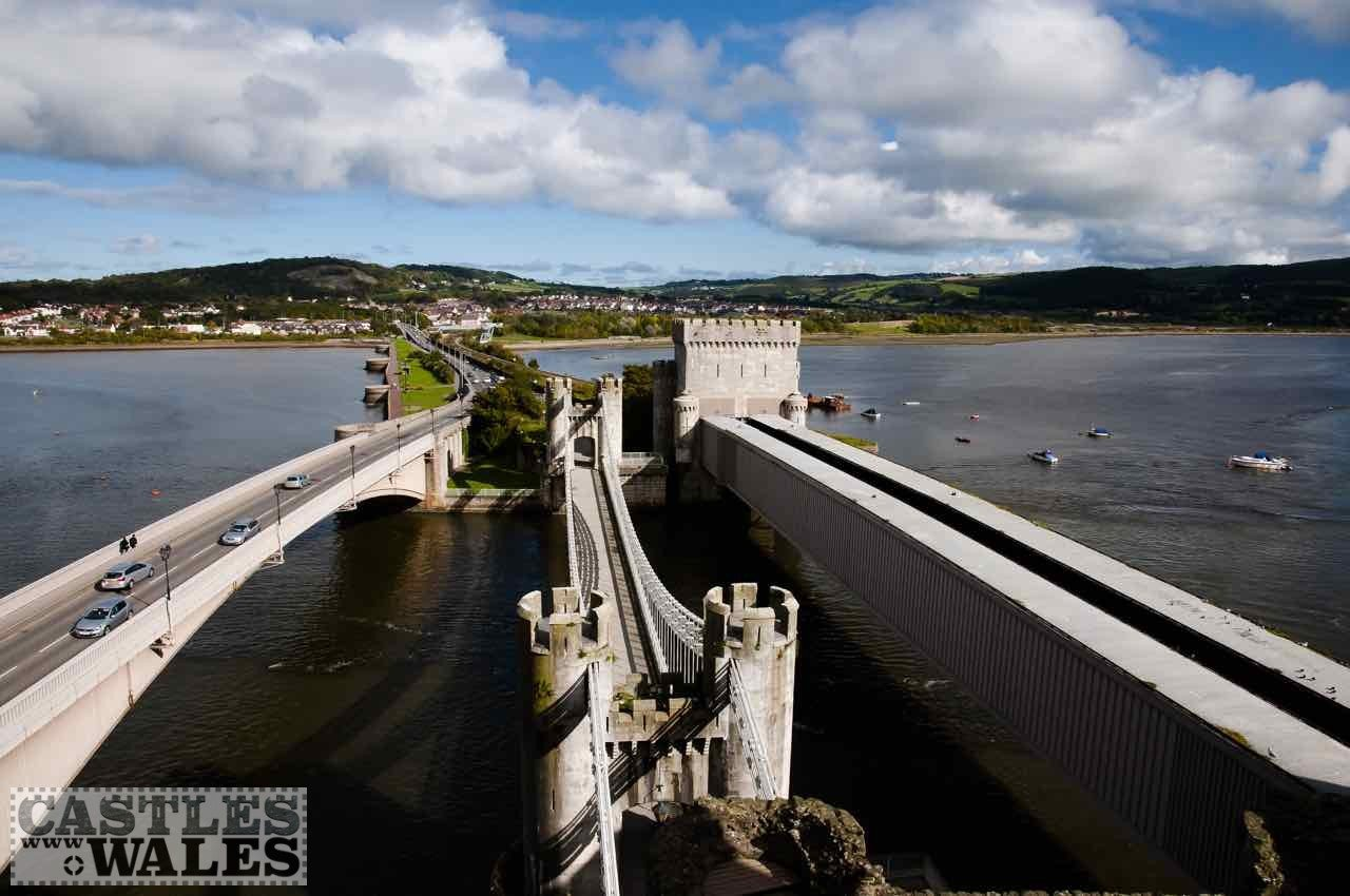 The Three Bridges at Conwy