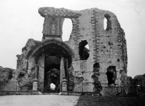 Denbigh Castle (Grand Entrance) in 1935