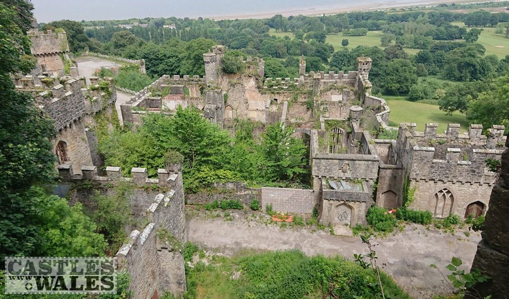 Gwrych Castle - I'm a Celebrity... Get Me Out of Here 2020 Location.