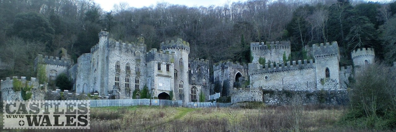 Gwrych Castle in 2014