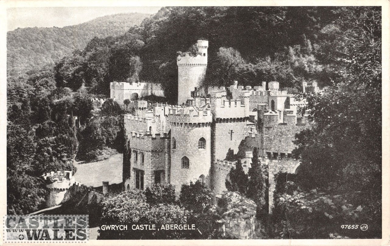 Gwrych Castle Postcard