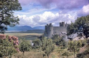 Harlech Castle in the 1960s