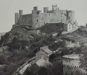 Harlech Castle Magic Lantern Slide c.1890