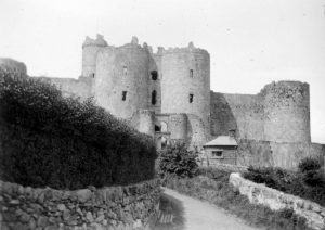Harlech Castle (Main Entrance) in 1935