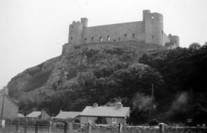 Harlech Castle from the Foot of the Hill 1935