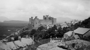 Harlech Castle from the South in 1935