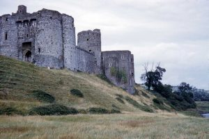 Kidwelly Castle c.1960