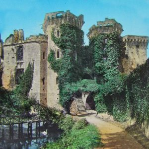 Magic Lantern Slide of Raglan Castle c.1890