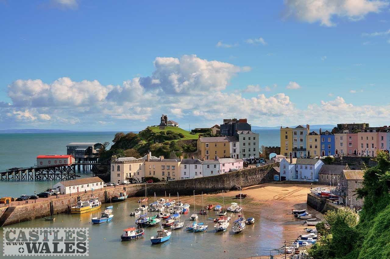 Tenby and Castle Hill