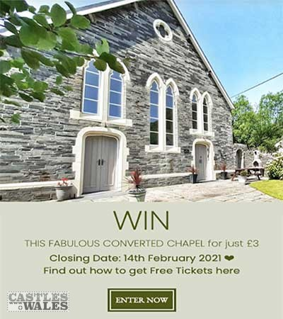 Win a Dream House in Abergynolwyn, Wales Competition.