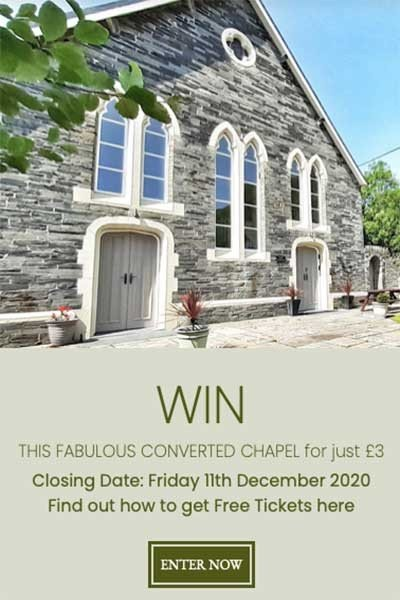 Win a Dream House in Abergynolwyn, Wales